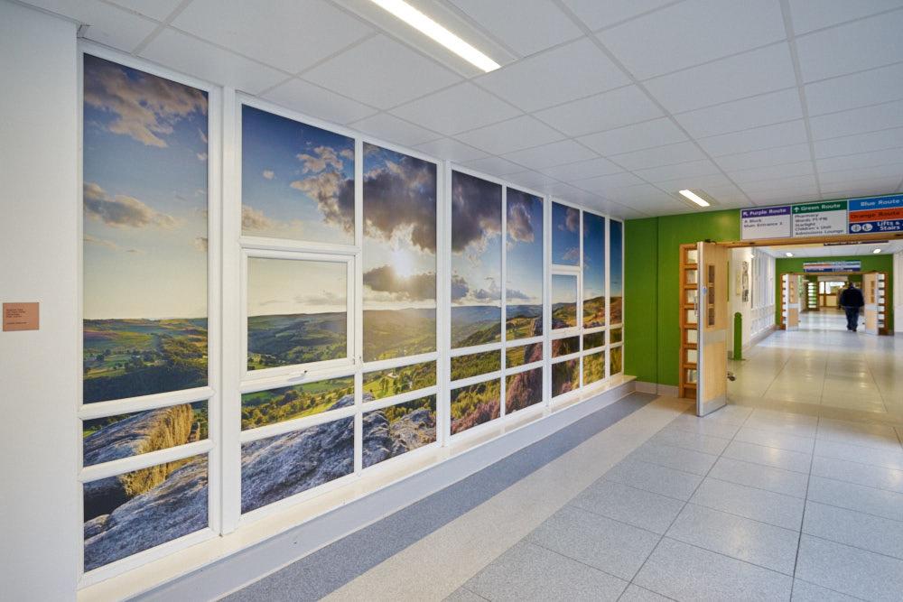 Wythenshawe Hospital Hybrid Theatres Artworks