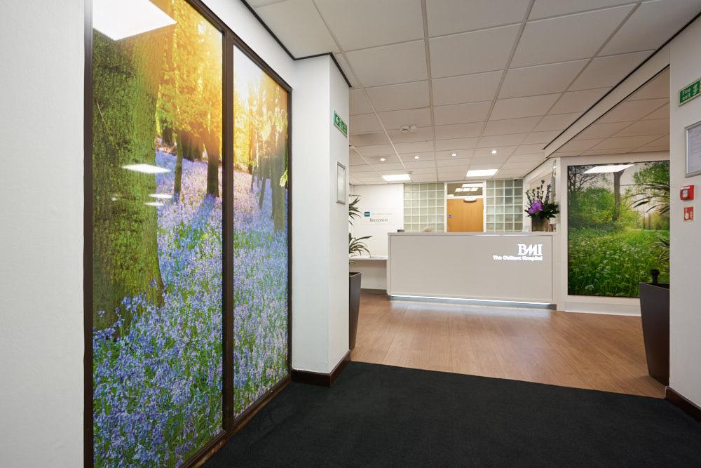BMI Chiltern Hospital  PhotoVinyl 1.4m x 2.6m