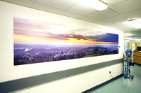 PhotoPanels, 4.05m x 0.9m Triptych, Satin Finish, UHSM Manchester