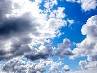 V8BG11  Clouds and Blue Sky