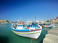 V8L14  Heraklion Harbour, Crete, Greece